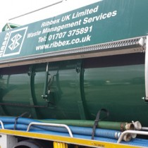 Liquid Waste: Ribbex has acquired its first vacuum tanker