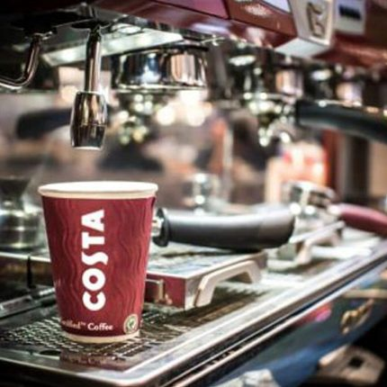 Costa To Recycle Competitor Paper Coffee Cups