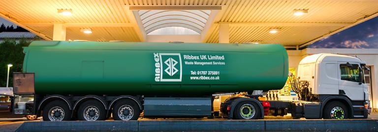Ribbex | Forecourt & Garage Waste Service